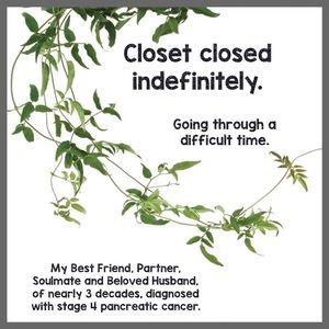 CLOSET CLOSED INDEFINITELY